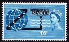 GB 1963 Apertura De Compac Commonwealth Cable. conjunto de uno SG645 desmontado como nuevos