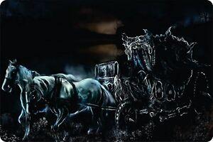 Horse Chariot Gun Animal Mystical Plaque Wall Art Graphics Evil Dead Aluminum