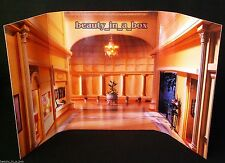 Interior Architectural Diorama Design Backdrop for Barbie Doll Display