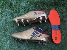 BNWOB Adidas X 17+ SG Football Boots. Gold. Size 8 UK