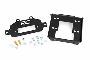 Rough Country Winch Mounting Plate for 14-21 Polaris RZR 1000 / 1000XP - 93042