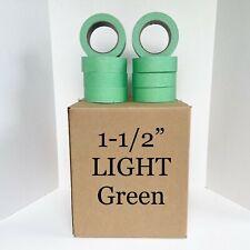 32 Rolls 1 12 X 60 Light Green Painters Masking Tape Quick Ship Usa Made Blem