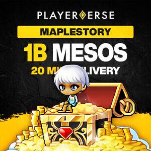 Maplestory Global Mesos - 1B (1,000,000,000) Billion - All Servers/Regions
