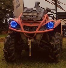 Yamaha Kodiak 700  rings lights set 2 Blue Angel Eyes Halos