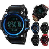 SKMEI Fashion Men's Sports Watch LED Digital Military Wrist Watch Waterproof
