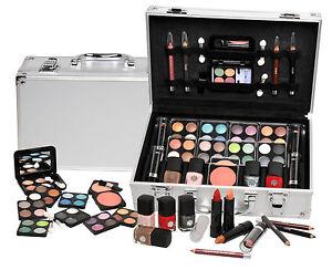 Vanity Case Beauty Cosmetic Set Gift Travel Make Up Box Train Storage 51 Piece
