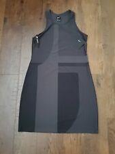 Nike Sportswear Tech Pack Knit Women's Sleeveless Tank Dress M Black Gray Casual