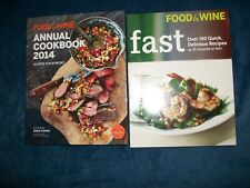 Food & Wine Annual Cookbook 2014: An Entire Year In Review + Food & Wine Fast