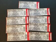 Lot Of 9 Nicki Minaj Pink Friday Tour Full Tickets From August 7 2012 Arizona