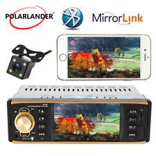 4.1'' 1 Din Car Radio Audio Estéreo USB AUX FM Bluetooth  Volante Control+Cámara