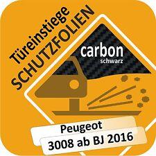 Peugeot 3008 Ab 2016 Tür Approcci Gonna Auto Gradini Protezione Pellicola di