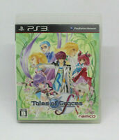 Sony PS3 Playstation - Tales of Graces F NAMCO Japanese Version