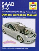 SAAB 9-3 SHOP MANUAL SERVICE REPAIR HAYNES 93 BOOK WORKSHOP GUIDE