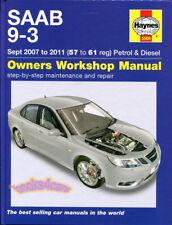 SHOP MANUAL 9-3 SERVICE REPAIR SAAB HAYNES 93 BOOK WORKSHOP GUIDE