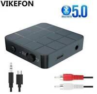 2 in 1 Bluetooth 5.0 Audio Transmitter Sender Empfänger Adapter Stereo Musi A0D1