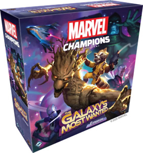FANTASY FLIGHT GAMES MARVEL CHAMPIONS: THE GALAXY'S MOST WANTED EXPANSION