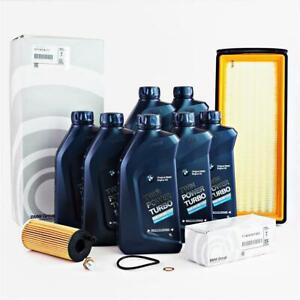 Orig. BMW Filterset F20/21 F22 F30/31/34 F07/06  F10/11 F12/13 F01/02 7L 5W30