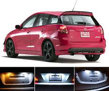 Xenon White License Plate / Tag 168 LED light bulbs for Toyota Matrix (2 Pcs)