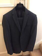 Marks And Spencer Slim Fit Indigo Blue Suit