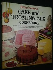 Betty Crocker's Cake and Frosting Mix Cookbook First Edition 1966 Illustrated