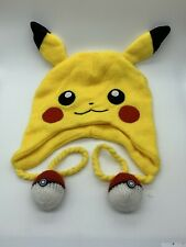 Pikachu Laplander Pokémon Hat Beanie Toboggan Poke Ball Headwear Cosplay Winter