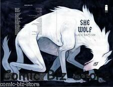 SHE WOLF #7 (2017) WOMENS HISTORY MONTH VARIANT COVER B 1ST PRINT IMAGE