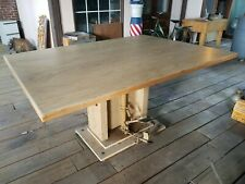 Hausmann Industries Foot Pedal Operated Hydraulic Work Table - Fully Functional!