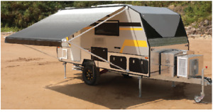 LUXURY AWNINGS 18 X 8FT ROLL OUT AWNING RV  CARAVAN JAYCO CAREFREE DOMETIC PARTS
