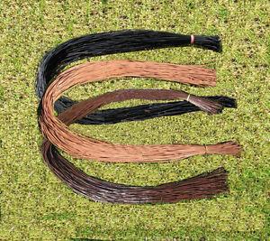 Lederband-Lederbänder-Lederschnur-Lederriemen-Ziegenleder 100 Stk 1 Meter 2 mm