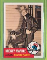 2007 Topps - Mickey Mantle Story (MMS25)  New York Yankees