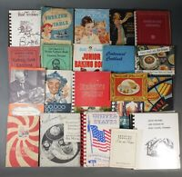 Lot of 20+ Vintage and Antique Cook Book & Pamphlets