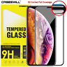 For iPhone 11 Pro X XR XS Max 8 7 6s Plus Curved Tempered Glass Screen Protector
