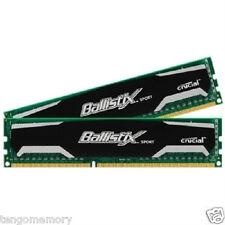 Crucial Ballistix Sport 8GB Kit (2 X 4GB) DDR3 1600MHz BLS2KIT4G3D1609DS1S00