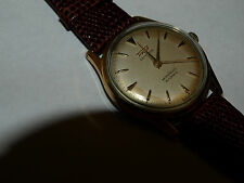Tissot Camping 1950's bumper automatic w/ omega leather band/buckle near NOS !!!