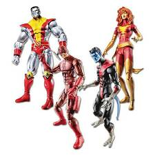 MARVEL LEGENDS ACTION FIGURE SET COLOSSUS, DAREDEVIL, NIGHTCRAWLER, DARK PHOENIX