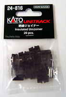 Kato 24816 HO/N Gauge Unitrack Insulated Unijoiner 20pcs. New