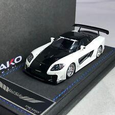 1/43 Peako JP Hobby Mazda RX7 Veilside Fortune 7 White / Black #32500