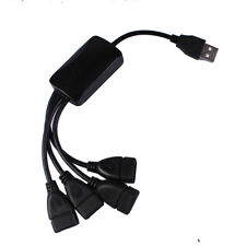 Small 4 Port Hub High Speed USB2.0 HUB Splitter Cable Adapter for Laptop PC New