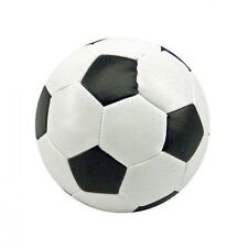 8 cm SOFT FOOTBALL Sponage Foam Ball - Black & White -For kids Indoor Outdoor