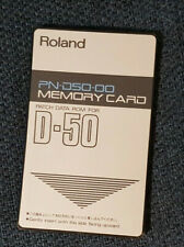 Roland PN-D50 00 Card for D50 - D550, very good conditions  x1