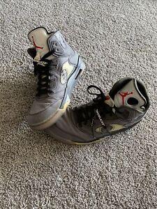 Jordan 5 Retro Off-White Black 13