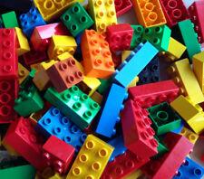 LEGO Duplo 60 bunte 4er + 8er Noppen Bausteine 20 2x4 + 40 2x2 Starter Paket Set