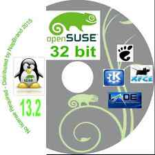 OpenSUSE 13.2 Gnome KDE Xfce & LXDE desktop options 32 bit on one DVD Open Suse