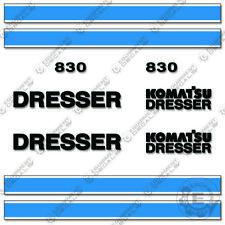 Komatsu Dresser 830 Decal Kit Motor Grader Replacement Sticker Set