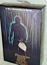 """NECA ULTIMATE JASON VOORHEES 7"""" Action Figure Friday the 13th Part III 3D MISP"""