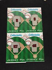 Boston Red Sox lapel pin set-(4)-Ted, Carlton, Carl & Pedro-Retro Collectable's
