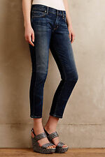 NWT - ANTHROPOLOGIE - CITIZENS OF HUMANITY Phoebe Crop Jeans sz 25 (Patina) $194
