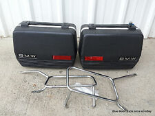 BMW Touring Cases pair with mounts airheads #0426171 OEM Original R80 R100 R65