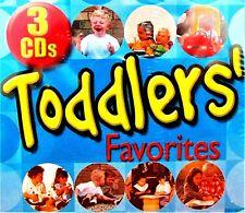 Toddlers Favorites 3CDs  NEW!, 60 Songs,Playtime,Silly ,Sing alongs ,Preschool