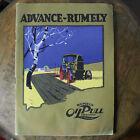 Original 1919 Advance Rumely Oil Pull Tractor Catalog Sales Brochure Rare